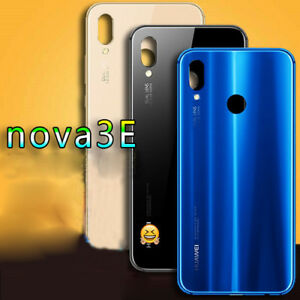 Details about Glass Back Battery Door Housing Cover Replacement For Huawei  P20 Lite /Nova 3e