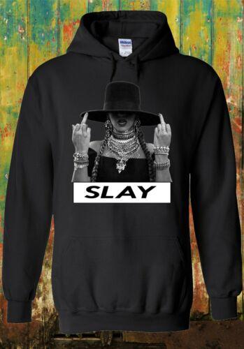 Beyonce I Slay Album Cover Music Fun Men Women Unisex Top Sweatshirt Hoodie 131e