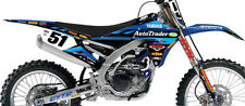 FX TEAM JGR AUTOTRADER GRAPHICS KIT YZ250F YZ450F ( 2006 to 2009 ) 18-09222