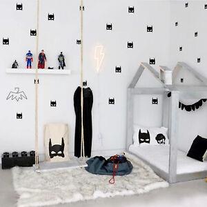 30 Superhero Batman Wall Sticker For Kids Room Baby Boy Room Wall Decor Kids Bed Ebay