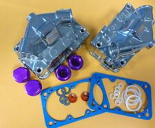 Proform 67162 Center Hung Fuel Bowl Kit Fits Holley, Quick Fuel,  Double Pump