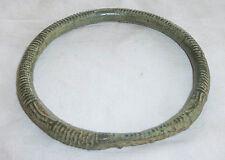 Cambodge ancien bracelet khmer en bronze période Angkor Cambodia antique bangle