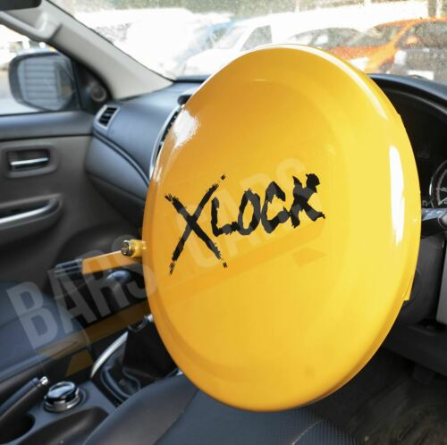 Full Face Steering Wheel Lock Clamp Security for Fiat 500