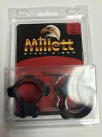 Millett Scope Rings 22 Cal Rings 30mm Med Tip Off Smooth Tp00008
