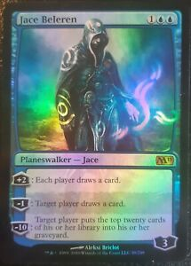 Jace-Beleren-PREMIUM-FOIL-VO-English-Mtg-Magic-M10