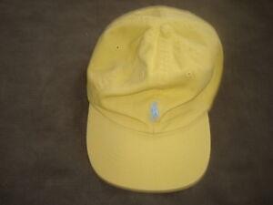 POLO-RALPH-LAUREN-YELLOW-HAT
