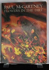 FLOWERS-IN-THE-DIRT-Song-Book-Sheet-Music-1989-PAUL-McCARTNEY-Linda-Photography