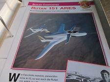 Faszination 9 29 Scales Composites Rutan 152 Ares Leichtflugzeug