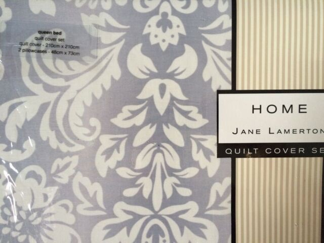 Jane Lamerton South Hampton  Queen Size Quilt Cover