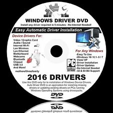 UPDATE Drivers DVD-Easy To Use - RE-INSTALL*AUDIO*PRINTER*WEBCAM-ETHERNET*VIDEO