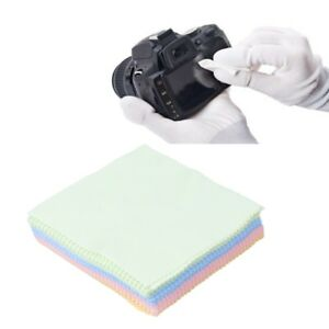 70Pcs Eye Glasses Lens Cleaning Cloth Microfiber Cleaner For Phone Camera Screen 690184465858