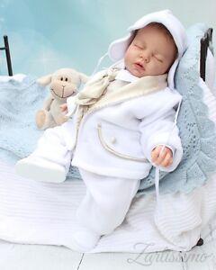 Mädchen Body festlich Taufbody Taufe IVORY  gr 62 68 74 80 86