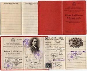 Circolazione-autoveicoli-Patente-per-conducente-servizio-privato-Pavia-1933