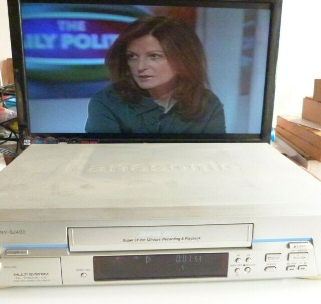 Panasonic NV-SJ400A VHS Video  Recorder. Convert old tapes to PC.