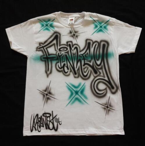 airbrushed kids T-Shirts Hip Hop Urbanist personalised Graffiti Street Dance