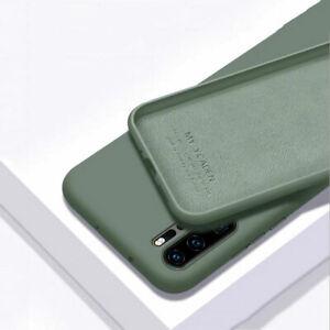 Dettagli su cover custodia case per Huawei P20 Lite silicone Gel Gomma TPU Verde Morbido