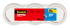 Scotch Heavy Duty Shipping Packaging Tape 3 Core 188 X 382 Yards 3 Rolls