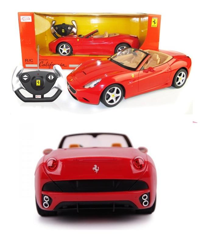 Con Licenza Ufficiale 1 12 Ferrari California RC  Radio Telecouomodo Auto RTR NUOVO  risparmiare fino all'80%