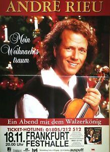 ANDRE-RIEU-1997-FRANKFURT-orig-Concert-Poster-Plakat-A1-F-U-675