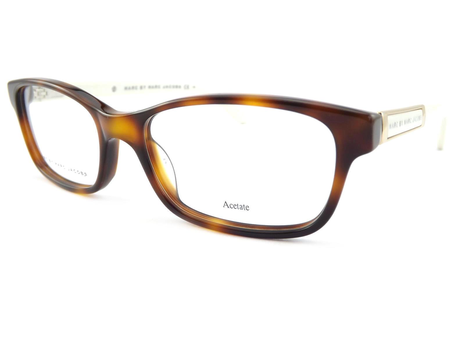 c9fa2502aa5 Marc Jacobs MMJ Womens Brown Tortoise 51mm Optical RX Glasses Frame ...