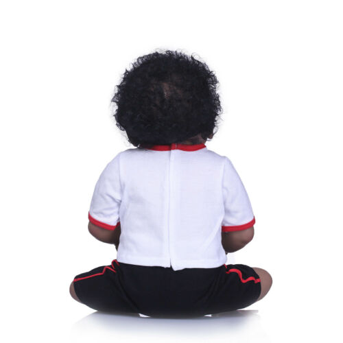 "Anatomically Correct Reborn African American Doll 23/"" Full Silicone Body Dolls"