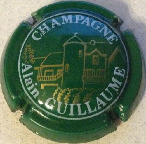 Capsule de champagne GUILLAUME Alain 8. vert