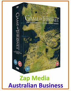 GAME-OF-THRONES-COMPLETE-DVD-SERIES-SEASON-1-2-amp-3-BRAND-NEW-amp-SEALED