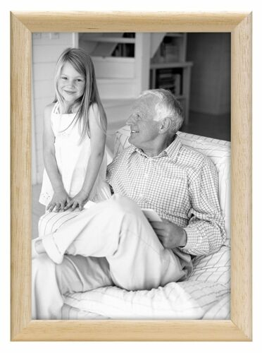 Same Shipping Any Qty MCS Bullnose Tabletop 8x10 Picture Frame Natural