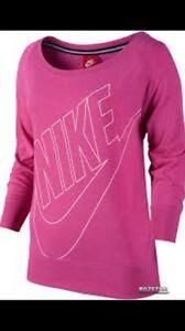 Crew S Nike para talla mujer Camiseta 888407081545 Gym Vintage rosa y7AXWcv