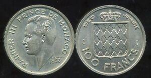 MONACO-100-francs-1956-bis