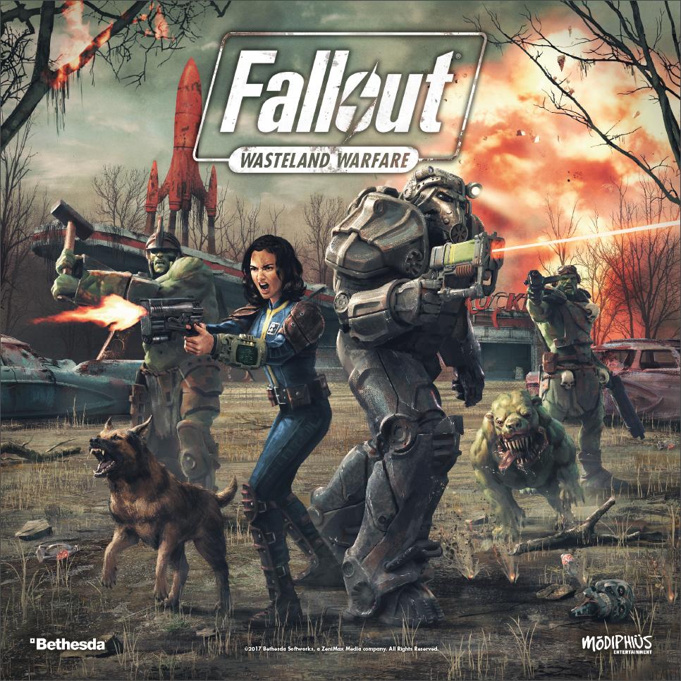 Nouveau Fallout  Désert Warfare-deux Player Starter FACTORY SEALED