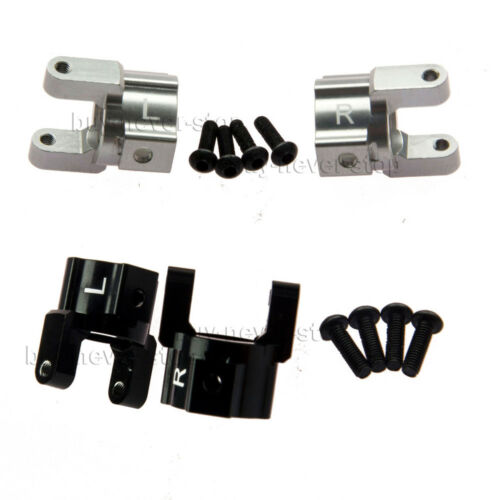 Alloy Metal Steering Link Skid Plate Bumper Servo Mount for Axial SCX10 1//10 RC