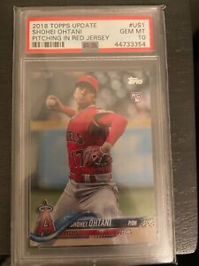 2018 Topps Update US1 Shohei Ohtani RC *PSA 10 GEM MINT