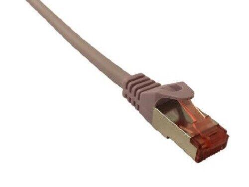 0.5m-25m Cat6a Cable Ethernet Parche Blindado RJ45 Lead 10gig 100/% Lote De Cobre