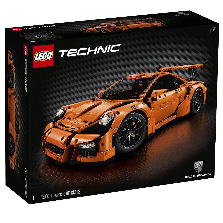 Lego Technic 42056-Porsche 911 gt3 RS, neu&ovp, NRFB, misb, ligeras marcas de almacenamiento