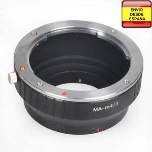 Adaptador-Minolta-Sony-a-micro-Cuatro-Tercios-micro4-3-micro-Four-Thirds