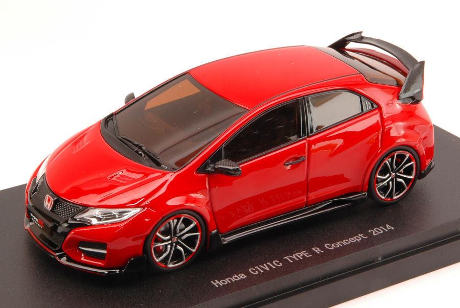 Honda Civic Type R Concept 2018 Rojo 1:43 Model 45234 EBBRO