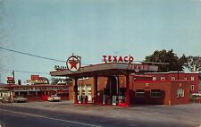 Postcard Jimmy's Gas Station & Jimmy's Diner in Auburn, Maine~112302