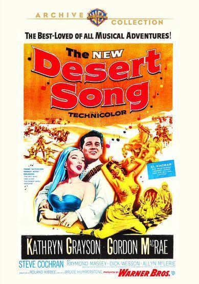 THE DESERT CANCIONES (1953 Kathryn Grayson) Region Free DVD - Sellado