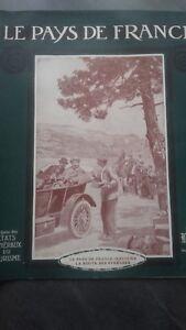 Rivista Il Paesi Di Francia Mattina N° 3 Parigi 1914 La Road Delle Pyrenees ABE