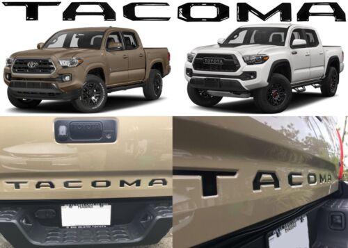 Metal Black F-150 Rear Tailgate Emblem Inserts Badge For 2016-2018 Toyota Tacoma
