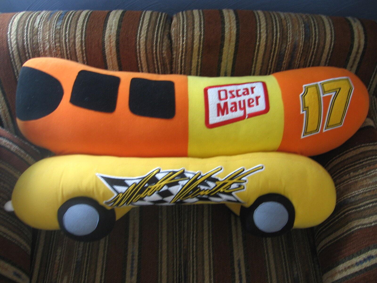 32  plush Jumbo Wiener Mobile Matt Kenseth, from Nascar, good condition RARE