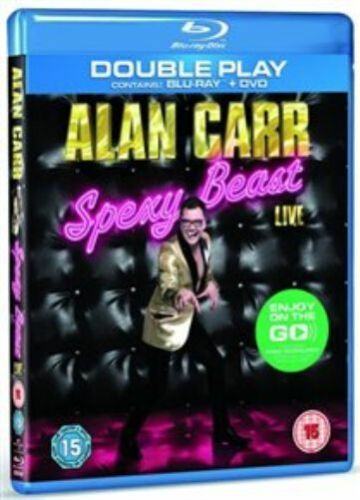 1 of 1 - Alan Carr  Spexy Beast Live - Double Play (Blu-ray + DVD), Very Good DVD, ,
