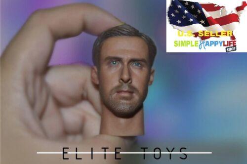 1//6 bureau K Head Sculpt Ryan Gosling Blade Runner 2049 Hot Toys COOMODEL ❶ USA ❶