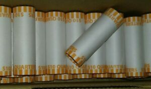 $10 Bank Roll of 40 Quarters - Coins - Mixed Lot- unopened - Sealed by bank USD