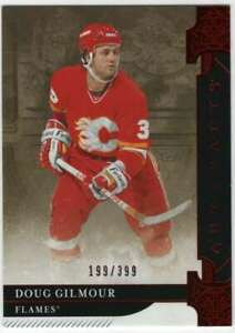 2019-20 Upper Deck Artifacts Ruby /399 #158 Doug Gilmour Flames