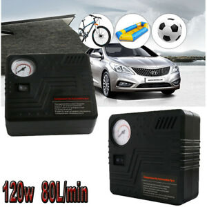 Mini-Kompressor-12-Volt-120L-min-Druckluft-Auto-Elektrische-Luftpumpe-Pumpe-KFZ