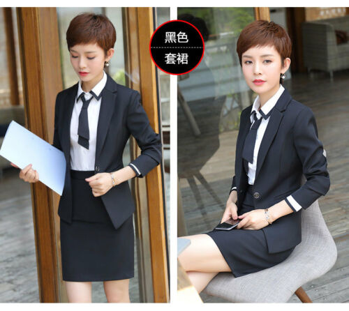 Formelle Business Suits Sets Work Slim 5pcs Kvinder Wear Casual Office Kvinder Ladies qfxC5HwpI