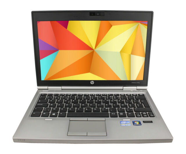 HP EliteBook 2570p Core i5-3320M 2,6GHz 4GB 320GB 12,5 `` WEBCAM WINDOWS 7 PRO