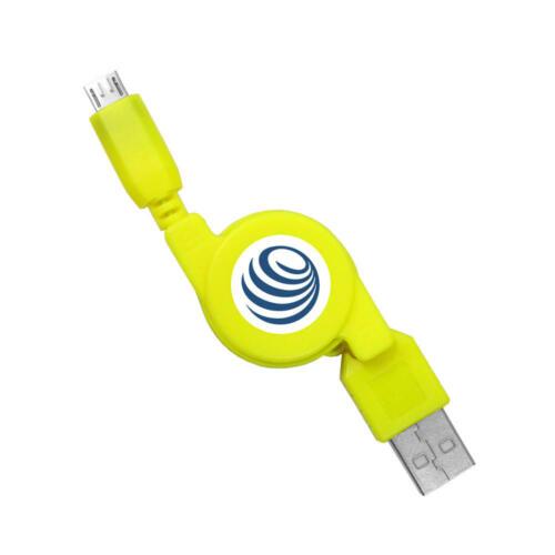USB Kabel Ladekabel ausziehbar für Sony Xperia Z3 Compact